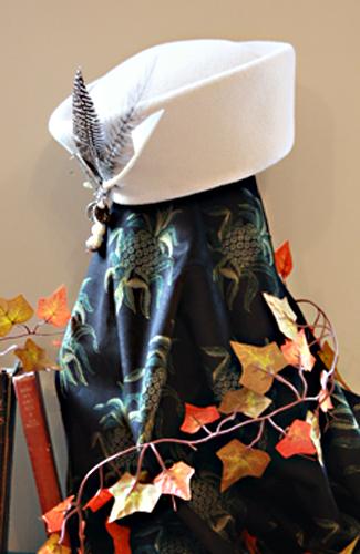 Alabaster Peachbloom Cossack Hat
