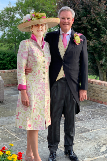 Mother of the Bride Wedding Outfit by Jenny Edwards-Moss in Stow-on-the-Wold